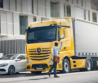 Mercedes-Benz Truck Safety